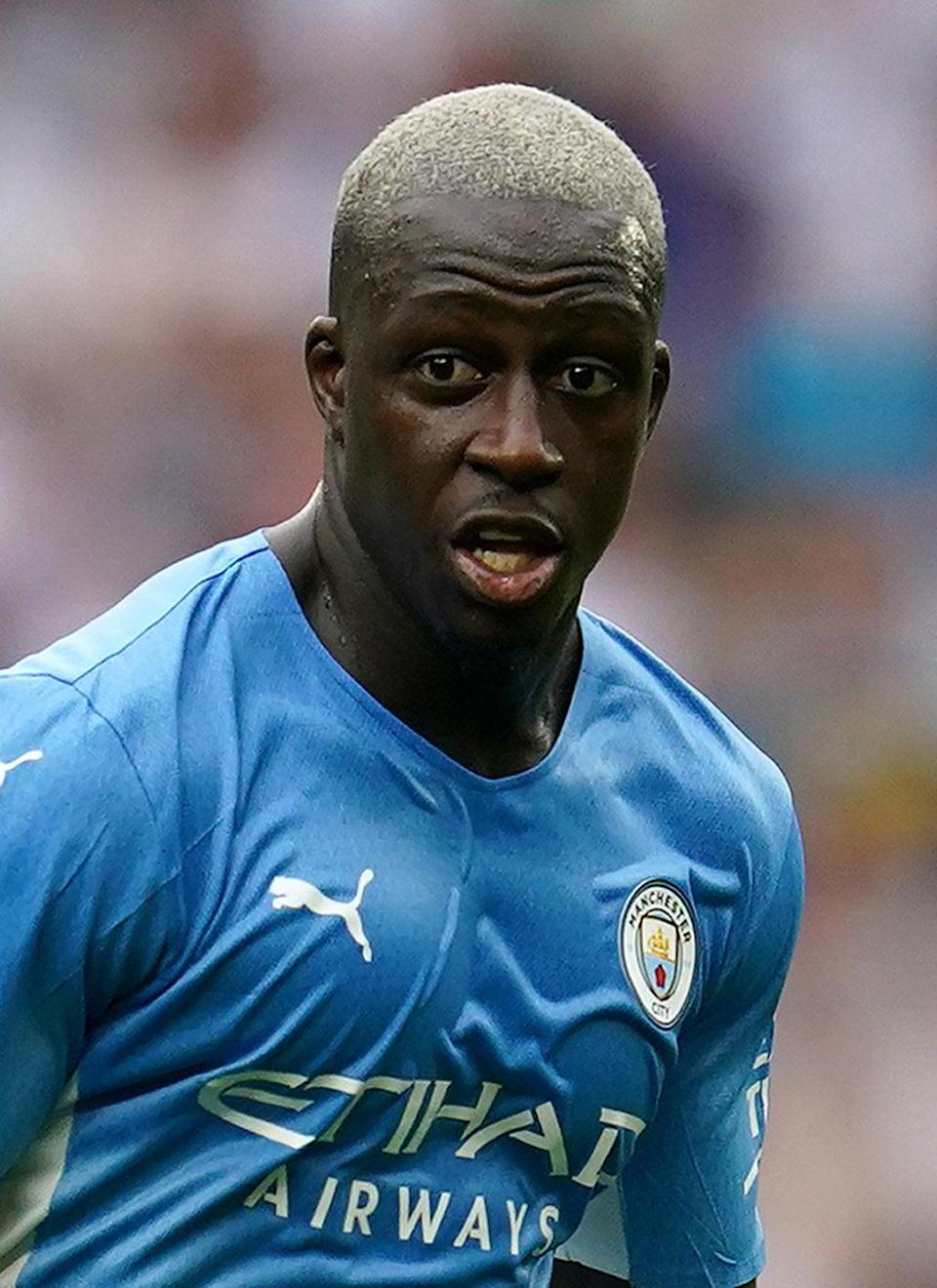 Manchester City's Benjamin Mendy remains in after being refused bail again (PA) (PA Wire)