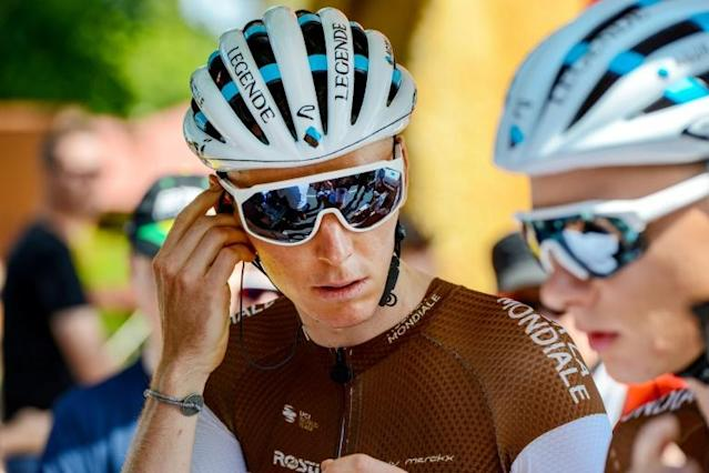 French ace Romain Bardet is one of many surprise late entries at the Paris-Nice eight stage cycling race (AFP Photo/Brenton EDWARDS)