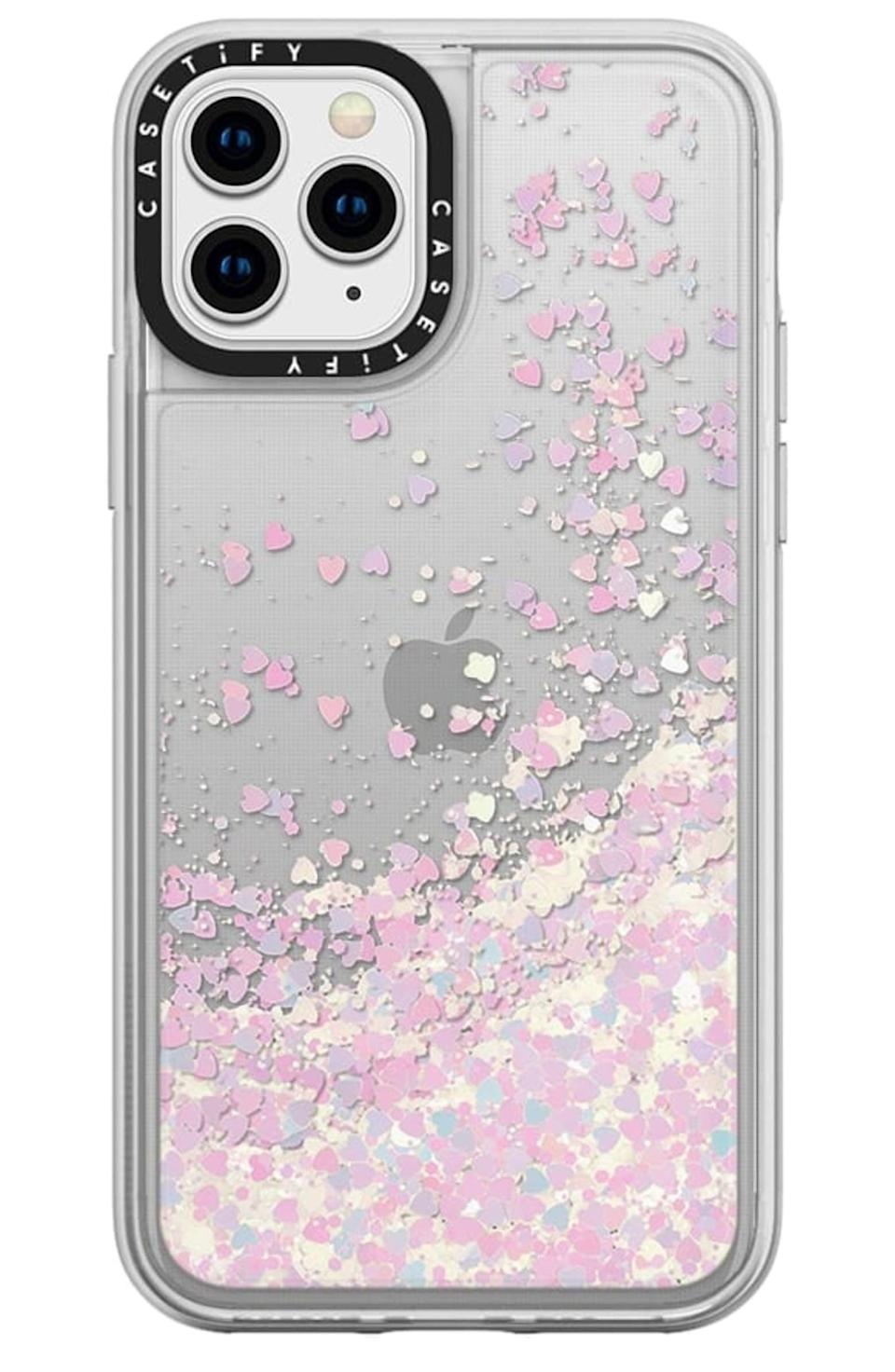 "<p>This <a href=""https://www.popsugar.com/buy/Casetify-Glitter-iPhone-1111-Pro11-Pro-Max-Case-532944?p_name=Casetify%20Glitter%20iPhone%2011%2F11%20Pro%2F11%20Pro%20Max%20Case&retailer=shop.nordstrom.com&pid=532944&price=45&evar1=fab%3Aus&evar9=36291197&evar98=https%3A%2F%2Fwww.popsugar.com%2Ffashion%2Fphoto-gallery%2F36291197%2Fimage%2F47027891%2FCasetify-Glitter-iPhone-1111-Pro11-Pro-Max-Case&list1=shopping%2Choliday%2Cwinter%2Cgift%20guide%2Cwinter%20fashion%2Choliday%20fashion%2Cfashion%20gifts&prop13=api&pdata=1"" rel=""nofollow noopener"" class=""link rapid-noclick-resp"" target=""_blank"" data-ylk=""slk:Casetify Glitter iPhone 11/11 Pro/11 Pro Max Case"">Casetify Glitter iPhone 11/11 Pro/11 Pro Max Case</a> ($45) is so cute.</p>"