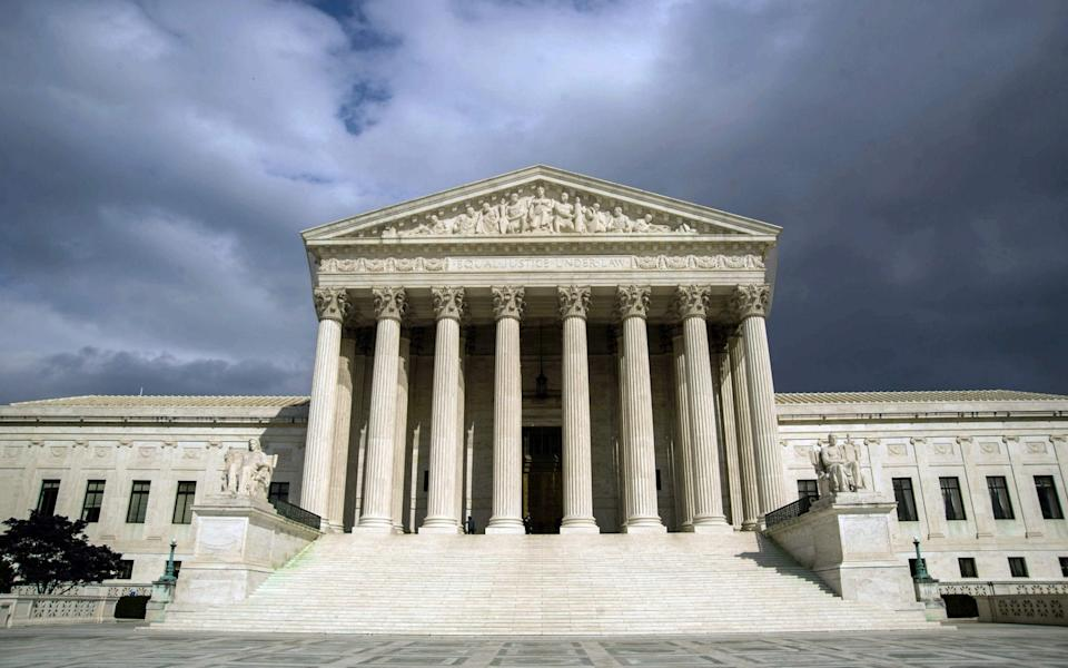 Judges on the US Supreme Court serve until they die or retire - GETTY IMAGES
