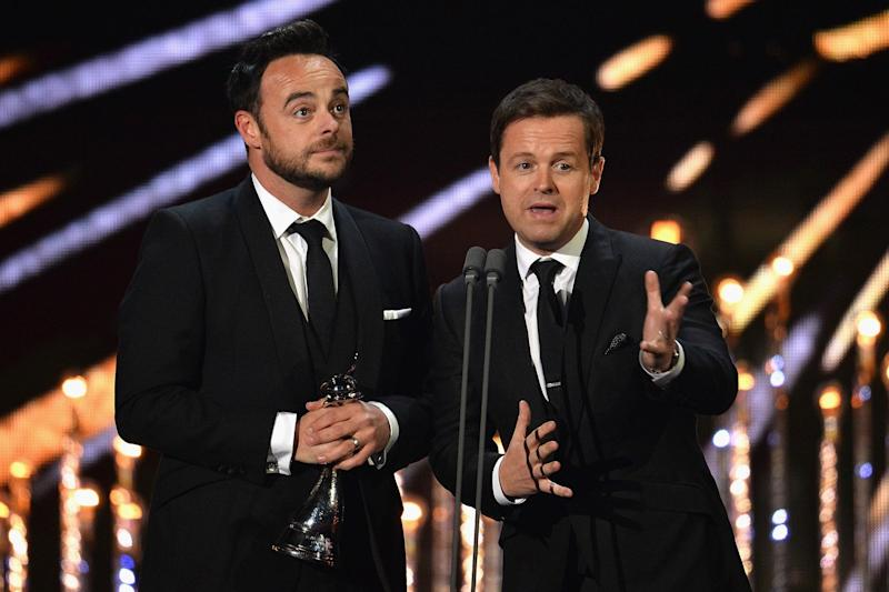 Friendship: Ant McPartlin and Declan Donnelly: Jeff Spicer/Getty Images