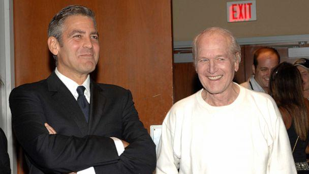 PHOTO: George Clooney and Paul Newman attend 'Tony Bennett's 80th to Benefit Paul Newman's Hole in the Wall Camps,' Nov. 9, 2006. (L. Cohen/WireImage via Getty Images)