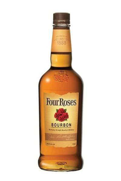 """<p><strong>Four Roses</strong></p><p>drizly.com</p><p><strong>$10.31</strong></p><p><a href=""""https://go.redirectingat.com?id=74968X1596630&url=https%3A%2F%2Fdrizly.com%2Fliquor%2Fwhiskey%2Fbourbon%2Ffour-roses-bourbon%2Fp3403&sref=https%3A%2F%2Fwww.cosmopolitan.com%2Ffood-cocktails%2Fg29021453%2Fbest-bourbon-brands%2F"""" rel=""""nofollow noopener"""" target=""""_blank"""" data-ylk=""""slk:Shop Now"""" class=""""link rapid-noclick-resp"""">Shop Now</a></p><p>Looking to chef up some mint juleps or manhattans? Hi, Four Roses is perfect for that. This stuff has a mellow, pleasant finish that makes it easy to incorporate into any cocktail your heart desires.</p>"""