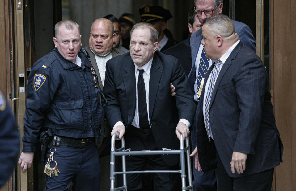 Harvey is serving a 23-year sentence for rape and sexual assault. Photo: Getty Images