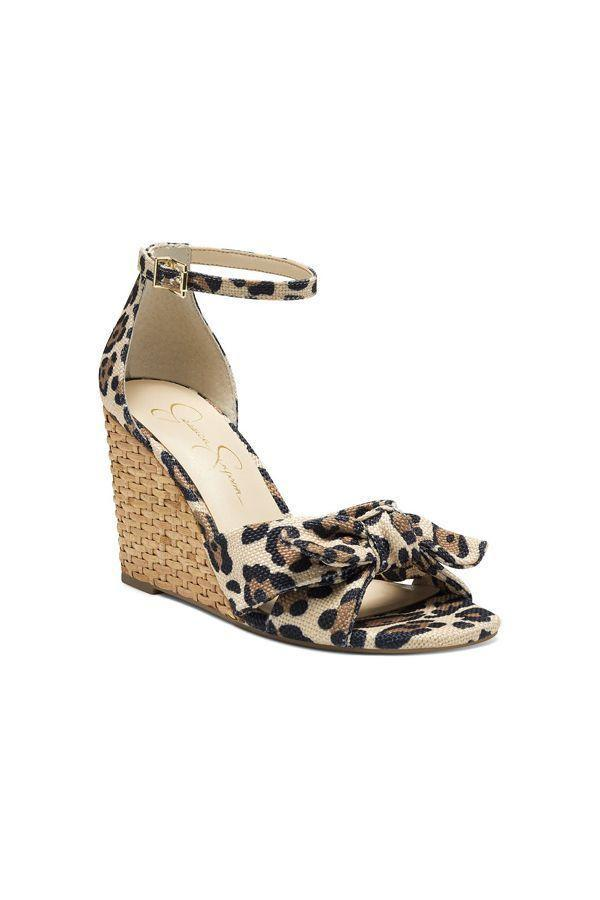 """<p><strong>Jessica Simpson</strong></p><p>nordstrom.com</p><p><strong>$80.10</strong></p><p><a href=""""https://go.redirectingat.com?id=74968X1596630&url=https%3A%2F%2Fwww.nordstrom.com%2Fs%2Fjessica-simpson-delirah-wedge-sandal-women%2F5956425&sref=https%3A%2F%2Fwww.oprahdaily.com%2Fstyle%2Fg36055944%2Fmost-comfortable-wedges%2F"""" rel=""""nofollow noopener"""" target=""""_blank"""" data-ylk=""""slk:SHOP NOW"""" class=""""link rapid-noclick-resp"""">SHOP NOW</a></p><p>Basket weave offers this ankle-strap wedge a polished finish.</p>"""