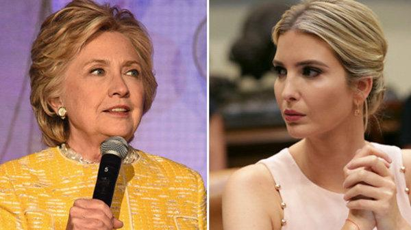 Hillary Clinton Torches The 'Lip Service' Of Ivanka Trump