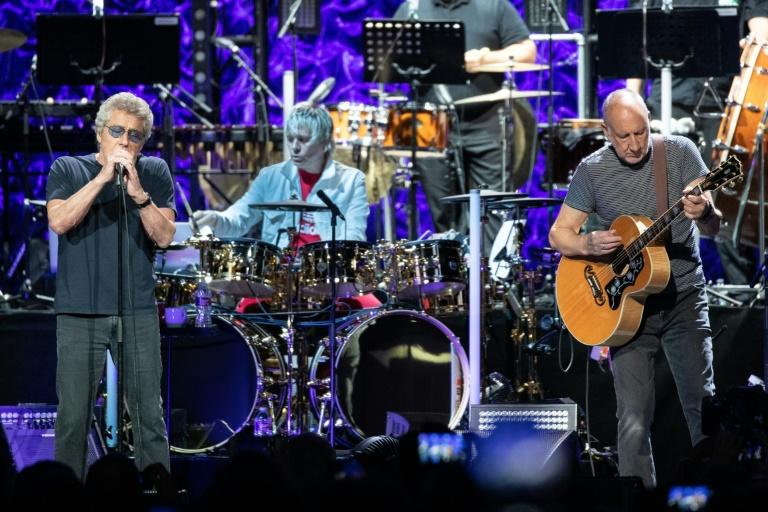 The Who, still fronted by singer Roger Daltrey and guitarist Pete Townshend, plan to release their first album in 13 years next month