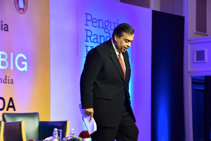 <strong>5e</strong> - Mukesh Ambani (Inde/Reliance Industries) / <strong>79,8 milliards de dollars</strong>