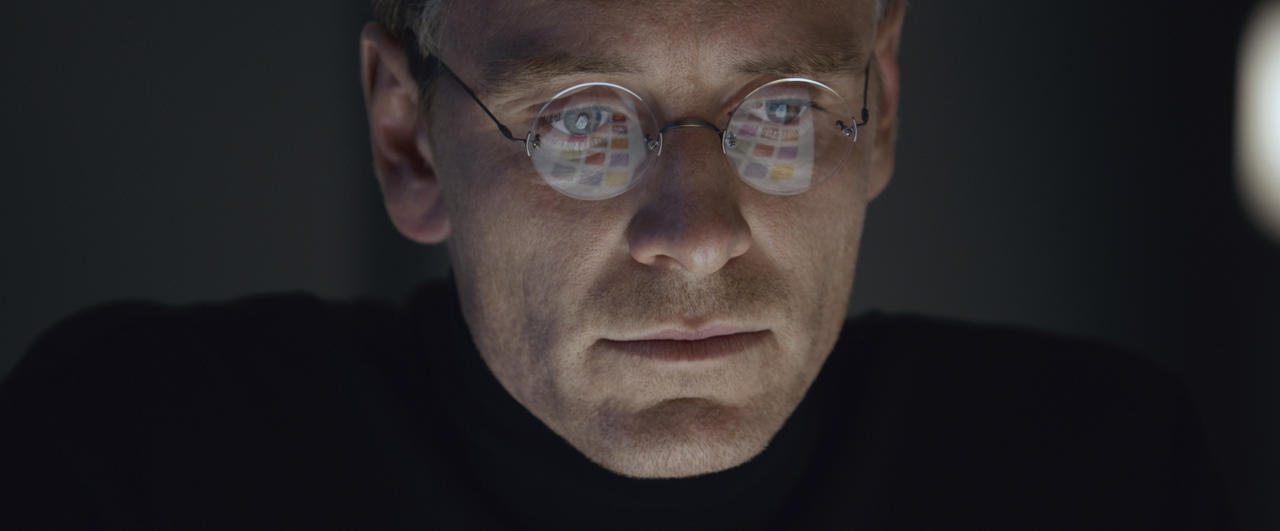 "In this image released by Universal Pictures, Michael Fassbender stars as Steve Jobs in a scene from the film, ""Steve Jobs."" Fassbender was nominated for an Oscar for best actor on Thursday, Jan. 14, 2016, for his role in the film. The 88th annual Academy Awards will take place on Sunday, Feb. 28, at the Dolby Theatre in Los Angeles. (Universal Pictures via AP)"