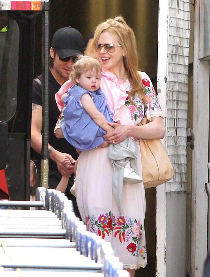 "<p class=""MsoNormal""><span class=""apple-style-span"">Nicole Kidman, 45, has taken several different avenues to become a mother. Her first two children with ex-husband Tom Cruise, 19-year-old Isabella and 17-year-old Connor, were adopted. After she married current hubby Keith Urban, she gave birth to their first child together, 4-year-old Sunday Rose. When Urban and Kidman wanted to expand their family again, they turned to a surrogate, who carried baby Faith Margaret (who turns 2 in December) to term. ""</span>Anyone who's been in the place of wanting another child or wanting a child knows the disappointment, the pain and the loss that you go through trying,"" Kidman said on Australia's ""60 Minutes"" last year. ""Struggling with fertility is such a big thing and it's not something that I would run away from talking about. We were in a place of desperately wanting another child. I couldn't get pregnant. I get emotional just talking about it, because I'm so grateful.""</p>"