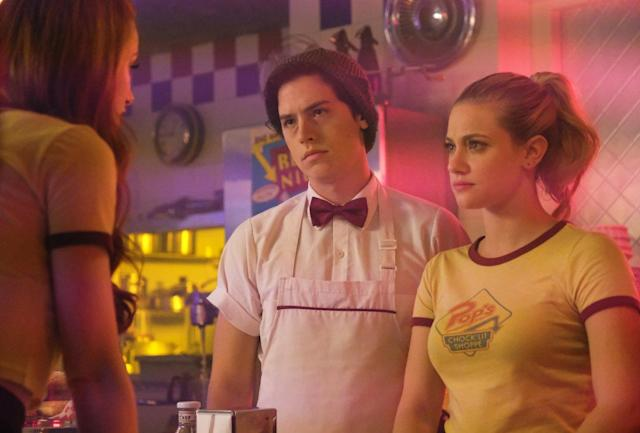 """Lili Reinhart and Cole Sprouse in """"Riverdale."""" (The CW)"""