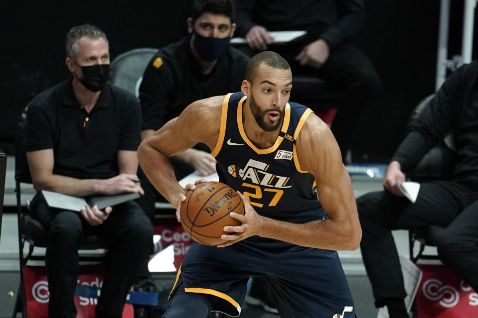Utah Jazz center Rudy Gobert