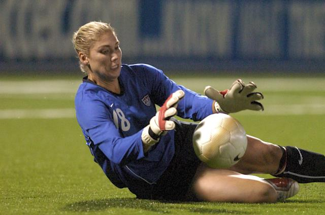 Hope Solo. Getty Images