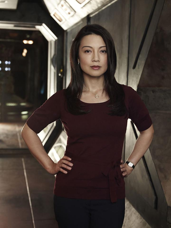 "Ming-Na stars as Camile Wray in ""Stargate Universe."""
