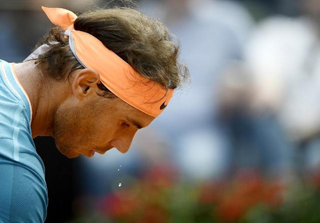Rafael Nadal won a record 34th Masters crown in Rome (AFP Photo/Filippo MONTEFORTE)