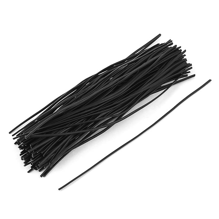 100 Pcs Plastic Shell Package Reusable Twist Ties Cable Wires Fasteners 150mm (Walmart / Walmart)