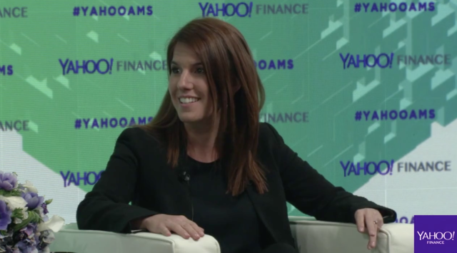 BitPesa CEO Elizabeth Rossiello at Yahoo Finance All Markets Summit: Crypto on Feb. 7, 2018.
