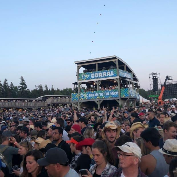 About 25,000 people attended the Cavendish Beach Music Festival in 2019.