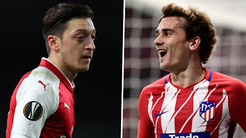 Europa League draw: Arsenal handed Atletico Madrid test in semi-finals