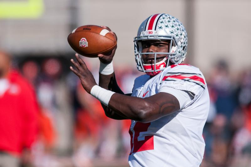 Former Ohio State quarterback Cardale Jones in 2015