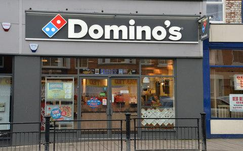 The Domino's Pizza takeaway in Scarborough - Credit: Anna Gowthorpe /PA