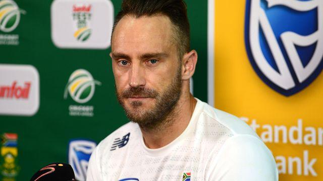 Faf is open to the idea. Image: Getty