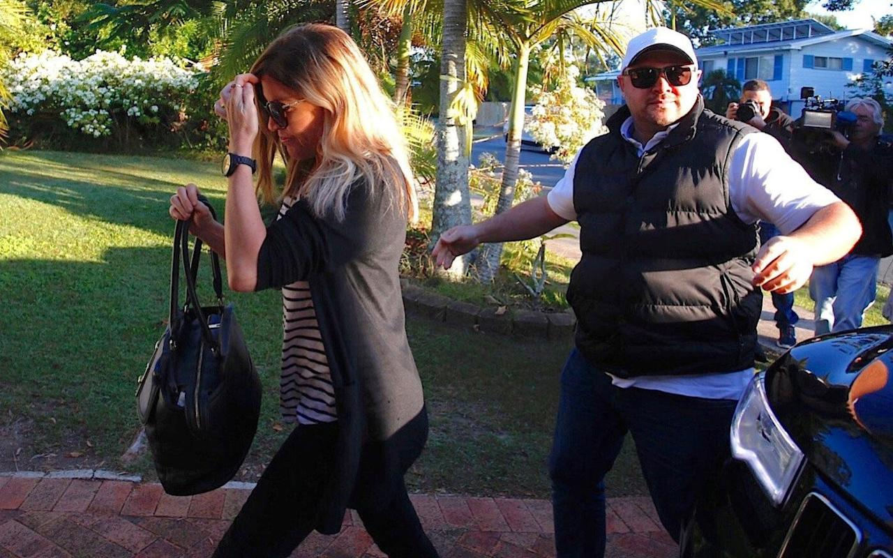 Australia's 'ganja queen' returns home more than 12 years after being jailed in Bali for smuggling marijuana