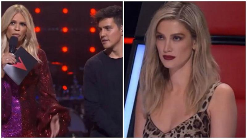 The Voice star Delta Goodrem's have landed her in hot water with the show's other coaches.