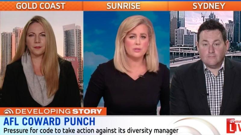 Sunrise Hot Topics guests Ben Davis and Cath Webber said there is no question that Fahour should be stripped of his high profile position. Source: Sunrise