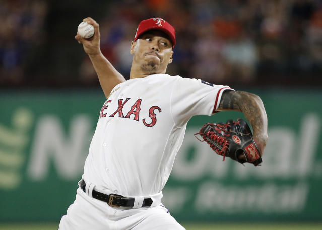 The Rangers continued their teardown Monday, shipping off reliever Keone Kela to the Pirates. (AP Photo)