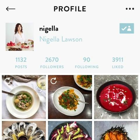 Nigella's profile - Credit: FOODIM