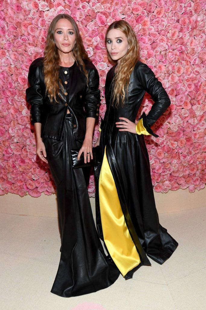 <p>The fashion moguls wore vintage leather Chanel to the 2019 Met Gala. </p>