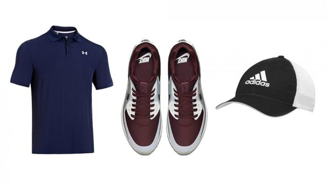 Now's the time to stock up on polos, shorts and shoes for the coming golf season.