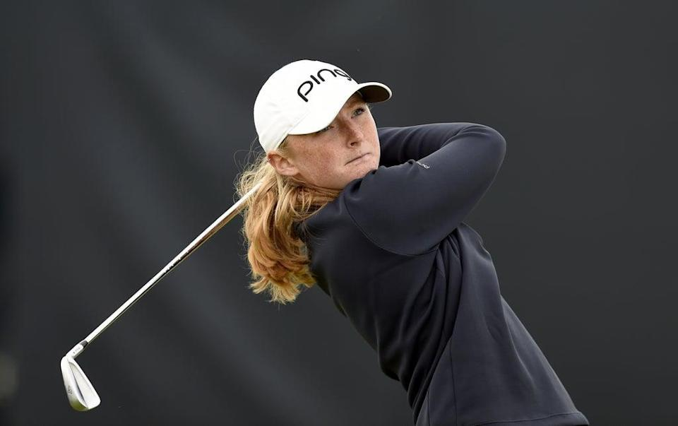 Scottish amateur Louise Duncan carded a superb 68 on day one of the AIG Women's Open at Carnoustie (Ian Rutherford/PA) (PA Wire)
