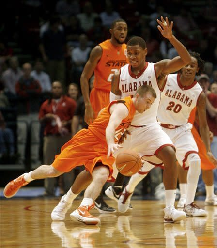 Releford, Alabama beat Oklahoma State 69-52