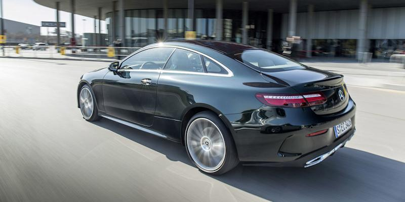 The 2018 mercedes e400 coupe is a modern take on an old for Mercedes benz credit