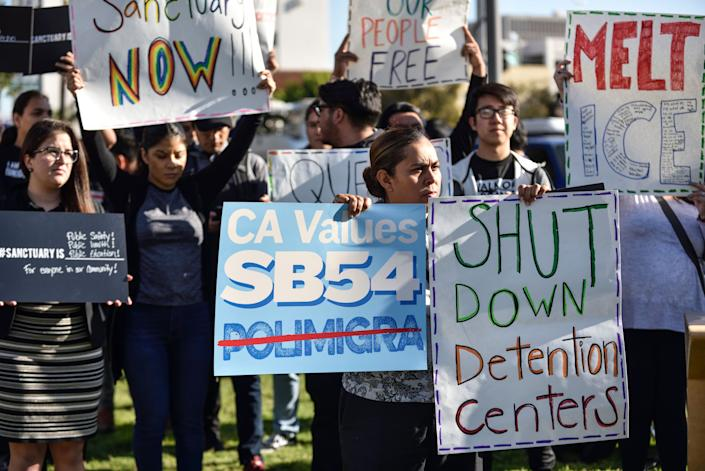 U.S. District Court Judge John Mendez upheld two of California's sanctuary laws, as well as a key provision of a third, on Thursday. (Photo: Digital First Media Group / Orange County Register / Getty Images)