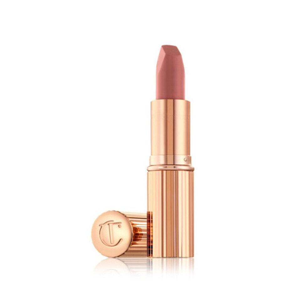 """<p>If you have yet to try the <a href=""""https://www.allure.com/review/charlotte-tilbury-matte-revolution-lipstick-pillow-talk?mbid=synd_yahoo_rss"""" rel=""""nofollow noopener"""" target=""""_blank"""" data-ylk=""""slk:Matte Revolution Lipstick in Pillow Talk"""" class=""""link rapid-noclick-resp"""">Matte Revolution Lipstick in Pillow Talk</a>, consider this your wake-up call. This iconic neutral rosy hue has been seen on <a href=""""https://www.allure.com/story/celebrities-love-charlotte-tilbury-matte-revolution-lipstick-pillow-talk?mbid=synd_yahoo_rss"""" rel=""""nofollow noopener"""" target=""""_blank"""" data-ylk=""""slk:countless celebrities"""" class=""""link rapid-noclick-resp"""">countless celebrities</a> attending the grandest red carpets (including the <a href=""""https://www.allure.com/gallery/met-gala-red-carpet-lipsticks?mbid=synd_yahoo_rss"""" rel=""""nofollow noopener"""" target=""""_blank"""" data-ylk=""""slk:Met Gala"""" class=""""link rapid-noclick-resp"""">Met Gala</a>) and looks incredible on <a href=""""https://www.allure.com/gallery/nude-pink-lipstick-by-skin-tone?mbid=synd_yahoo_rss"""" rel=""""nofollow noopener"""" target=""""_blank"""" data-ylk=""""slk:fairer skin tones"""" class=""""link rapid-noclick-resp"""">fairer skin tones</a>, while <a href=""""https://cna.st/affiliate-link/2DU3NNvw6GNTuoy1VerCMigZyhsPq1uuV8Aqvyy2QXNyCy5arbNgrHAh9ZcCPfuNn55VKr1Fd48RuSvCafqE1BeiEg8ym7mynanVdDb5Mi1unLekA93ehJjMnqaNky3FKhhRyEHPhQqtvkWDknD8uR3VyhM9HmfKPXQk1J8okFZzii?cid=607dbe30d9ece843adc386b2"""" rel=""""nofollow noopener"""" target=""""_blank"""" data-ylk=""""slk:Pillow Talk Medium"""" class=""""link rapid-noclick-resp"""">Pillow Talk Medium</a> (a warm berry pink) stands out on deeper tones. But let's be clear; you can wear whichever shade you please. </p> <p>The success of Pillow Talk, which includes a <a href=""""https://www.allure.com/story/best-of-beauty-awards-2020?mbid=synd_yahoo_rss"""" rel=""""nofollow noopener"""" target=""""_blank"""" data-ylk=""""slk:Best of Beauty"""" class=""""link rapid-noclick-resp"""">Best of Beauty</a> <em>and</em> <a href=""""https://www.allure.com/story/readers-choice-winners?mbid=synd_yahoo_"""