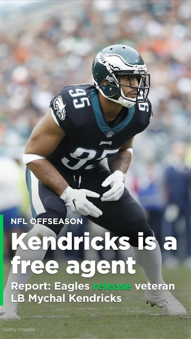 According to ESPN's Adam Schefter, the Philadelphia Eagles have released veteran LB Mychal Kendricks.