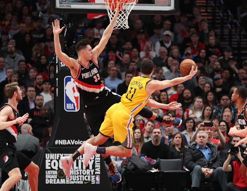 f63acc1f717e Game 1 of Portland Trail Blazers vs. Golden State Warriors  How and Where  to Watch