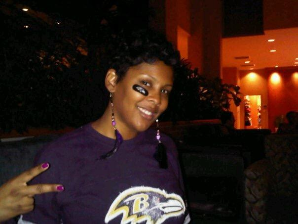 Reeta Hubbard, a Ravens fan, takes issue with Colin Kaepernick's unemployment. (Special to Yahoo Sports)