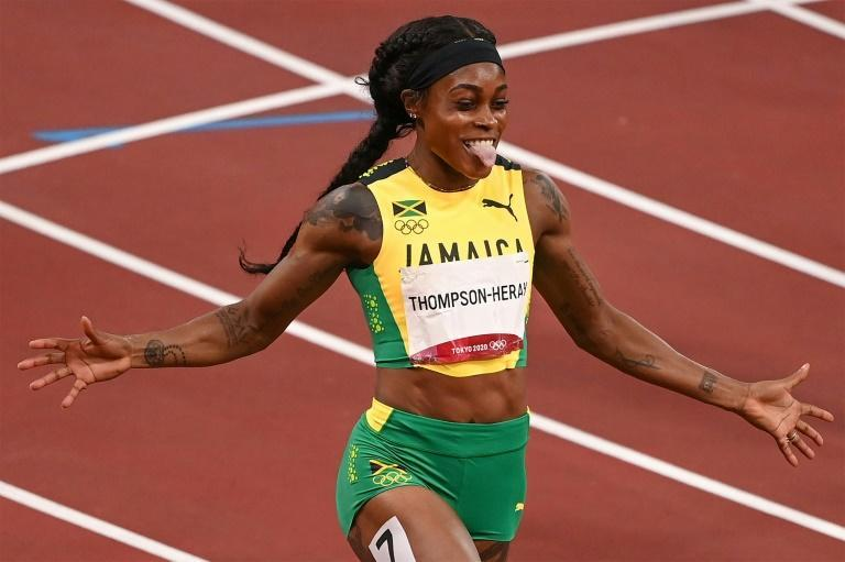 Elaine Thompson-Herah and Karsten Warholm made it a historic day in the athletics at the Olympics