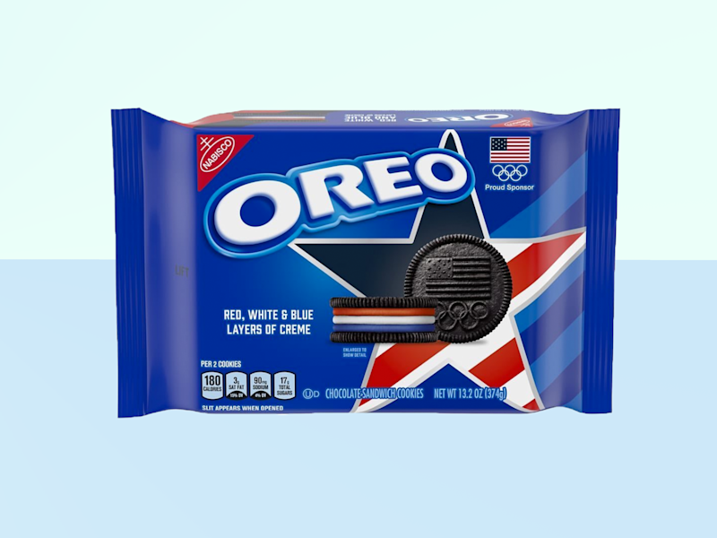 Red, White, and Blue Oreos Are Coming This Summer for the 2020 Olympics