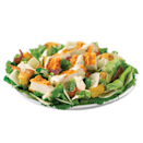 """<p>This salad features hand-chopped romaine lettuce, Wendy's signature spicy cut chicken breast, three-cheese blend (asiago, parmesan, and Romano cheeses) grape tomatoes, French bread croutons, and is topped with Marzetti Caesar dressing. Sounds delic, but contains a staggering 49 grams of fat (15 grams saturated) — over half the recommended amount of saturated fat in one sitting. Even the half-sized option packs in 26 grams of fat.<br><br><strong>Salad serving: Full-size</strong><br> — Calories: 730<br> — Fat: 49 g (Saturated Fat 15 g)<br> — Carbohydrates: 36 g<br> — Sodium: 1,730 mg<br> — Sugar: 6 g<br> — Protein: 39 g<br> — Source/Photo: <a href=""""https://www.wendys.com/en-ca/salads?gclid=CLmfm4bqoccCFQ-maQodHOkHfw"""" rel=""""nofollow noopener"""" target=""""_blank"""" data-ylk=""""slk:Wendy's Canada"""" class=""""link rapid-noclick-resp"""">Wendy's Canada</a> </p>"""