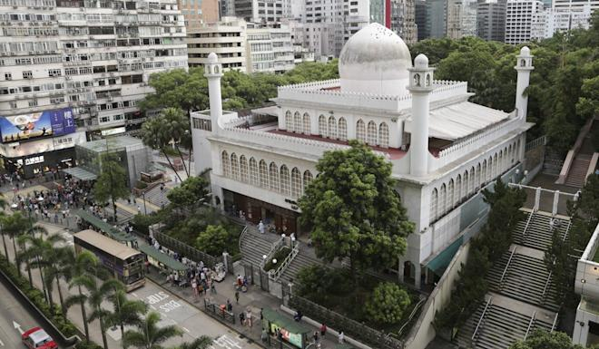 The mosque will be closed until further notice. Photo: James Wendlinger