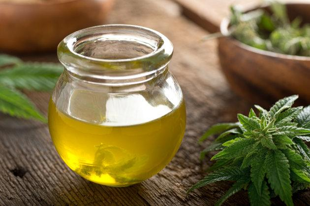 "Cannabis oil, of the type that's added to ""beer."""