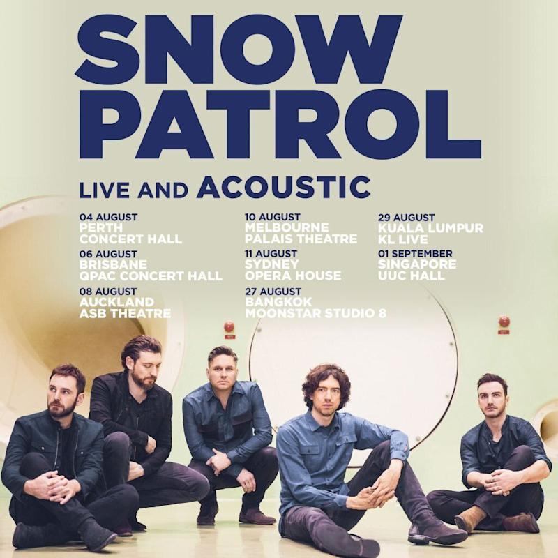 PHOTO: Snow Patrol