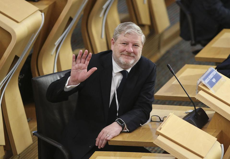 Angus Robertson has been made Constitution Secretary just a fortnight after he was elected to Holyrood (Fraser Bremner/Scottish Daily Mail/PA)