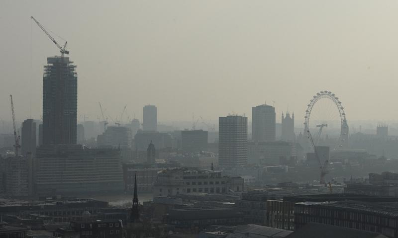 Pockets of central London rank among the most polluted in Europe and the city's emissions exceed European Union norms