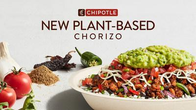 Chipotle's new Plant-Based Chorizo has the deep rich flavor of Chorizo and is made with ingredients grown on a farm, not in a lab.